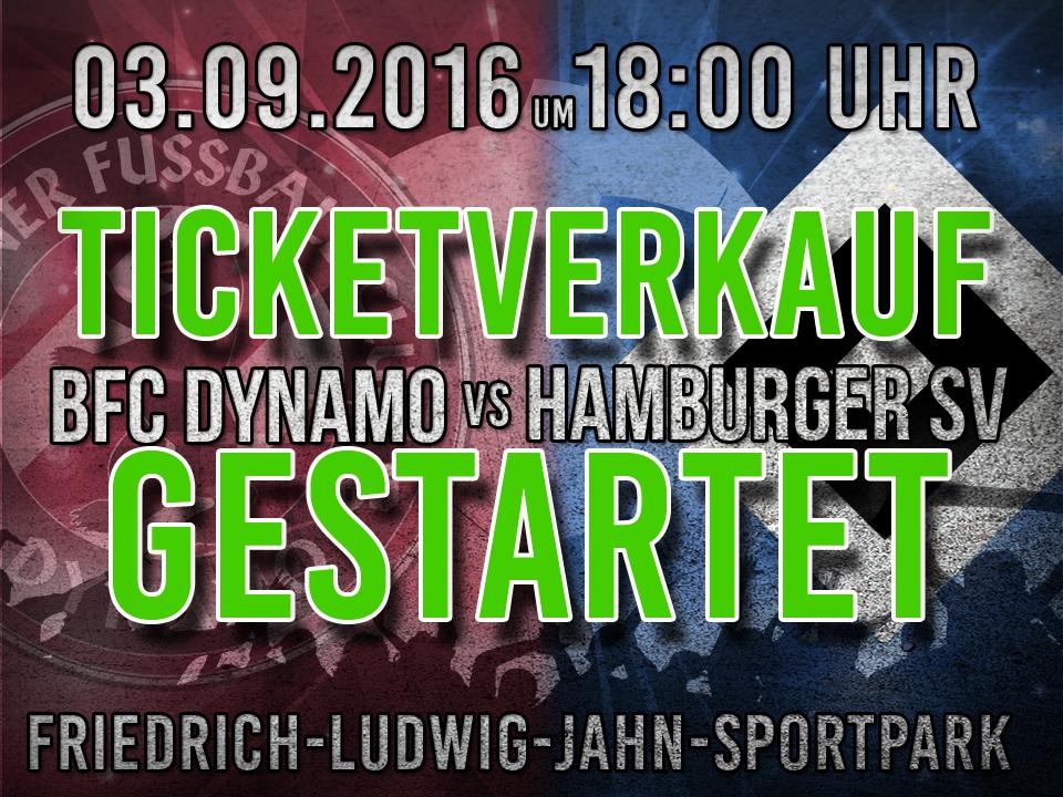 Jetzt Ticket im Online-Shop für das Spiel gegen den HSV sichern!