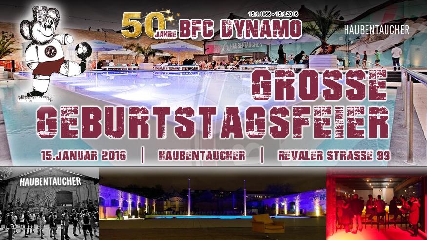 50 Jahre BFC DYNAMO - Geburtstagsfeier