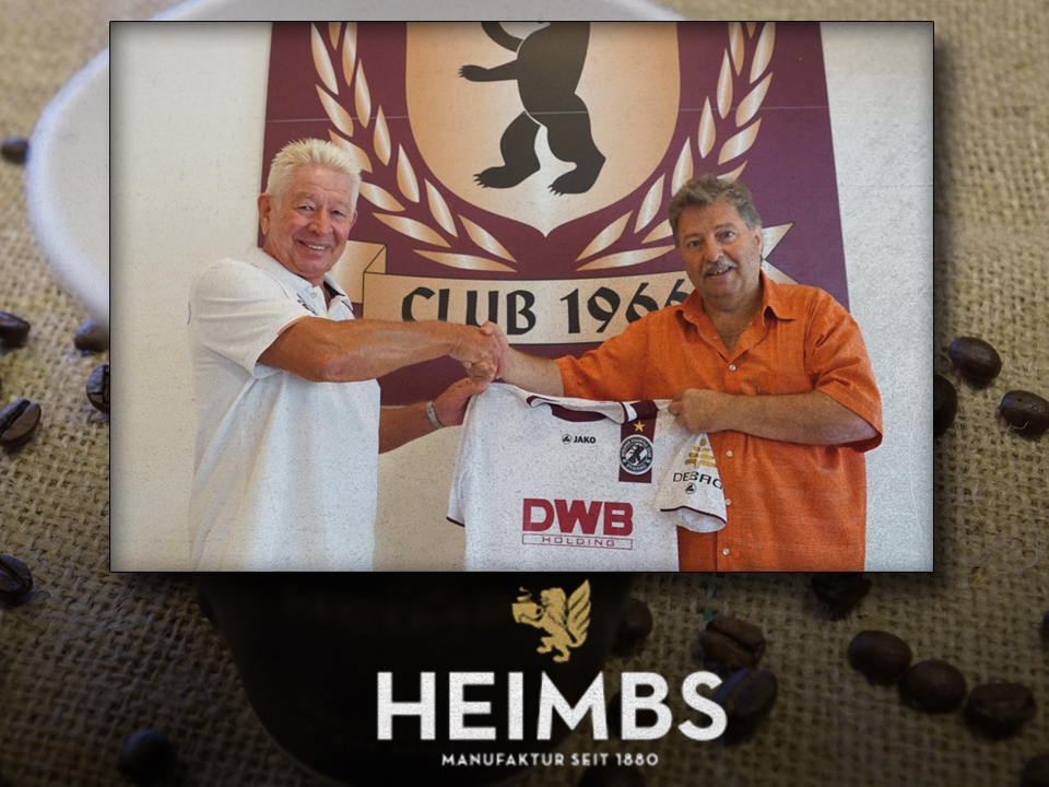 Neuer CLUB 1966 Partner beim BFC DYNAMO: Fa. Heimbs Kaffee GmbH & Co. KG