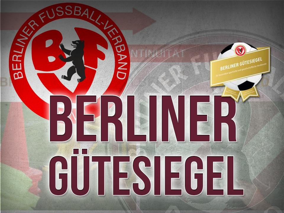BFC Dynamo bewirbt sich um das Gütesiegel des Berliner Fußball-Verbands