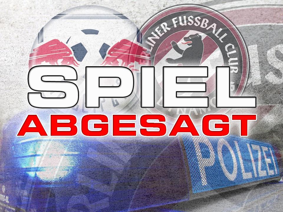 SPIEL RB Leipzig - BFC DYNAMO ABGESAGT