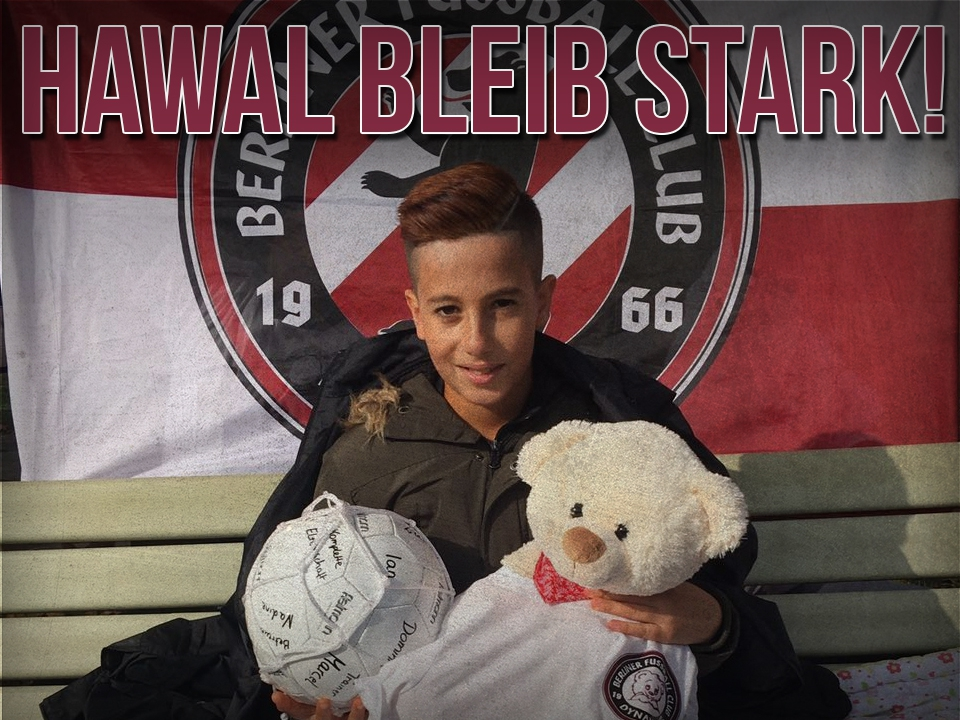 BLEIB STARK - HAWAL