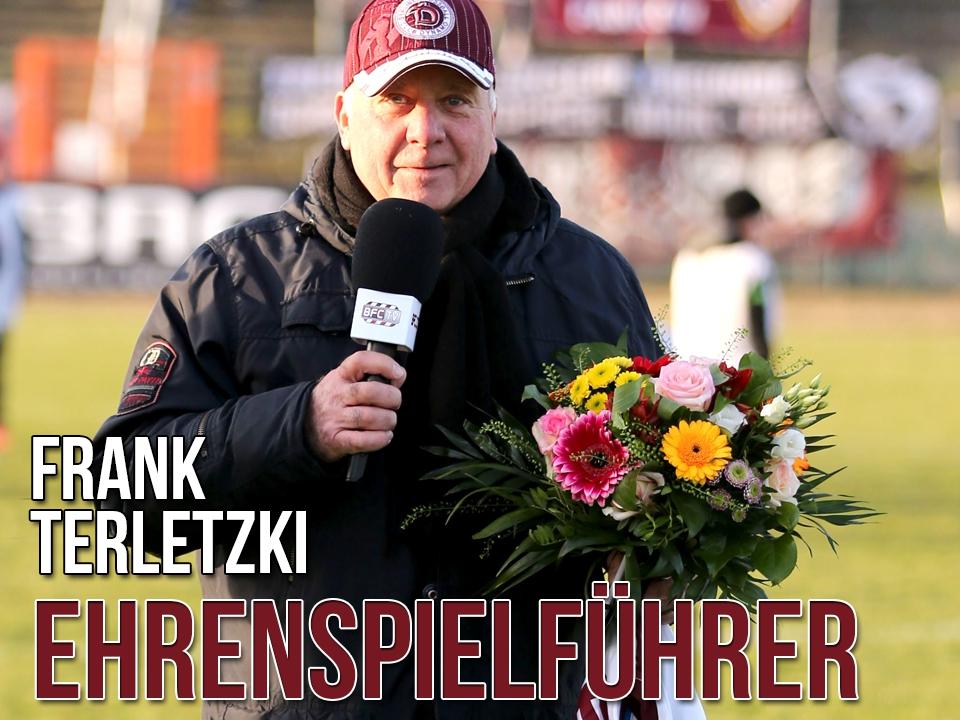 Frank Terletzki zum Ehrenspielführer ernannt