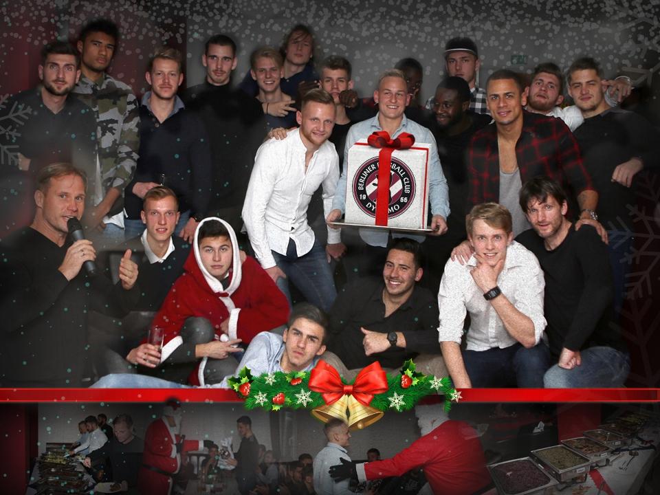 Weihnachtsfeier unseres Regionalligateams