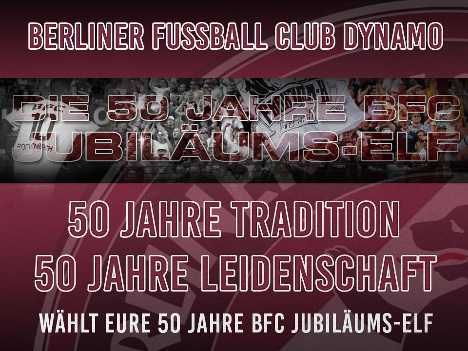 DIE 50 JAHRE BFC JUBILÄUMS-ELF