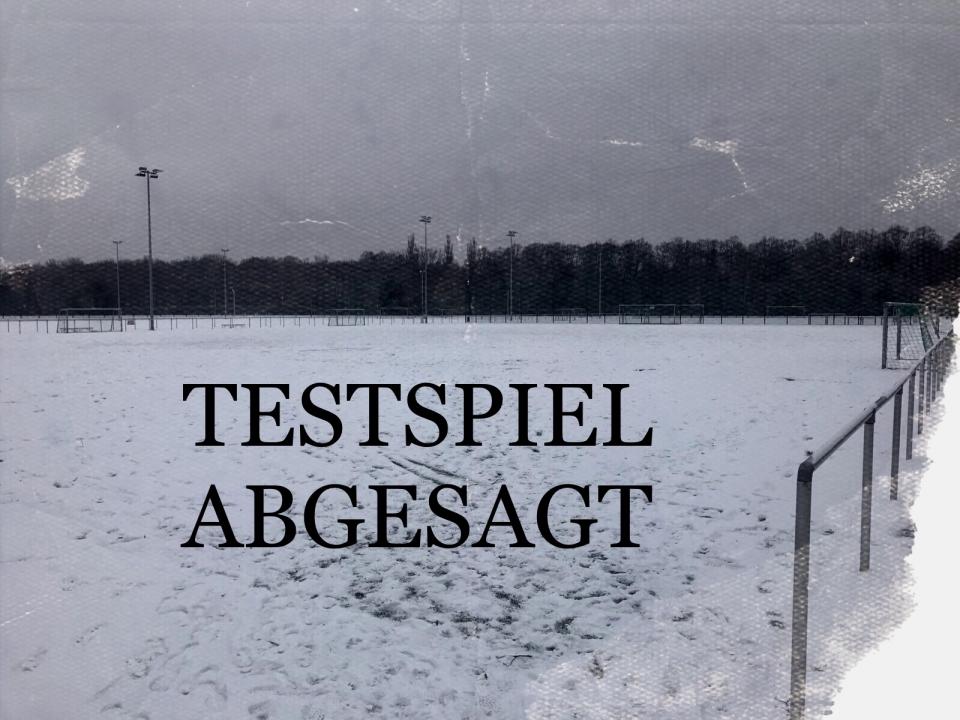Abgesagt: Testspiel gegen Sparta Lichtenberg