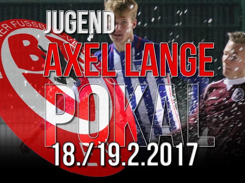 1/8 Finale Axel-Lange-Pokal ausgelost