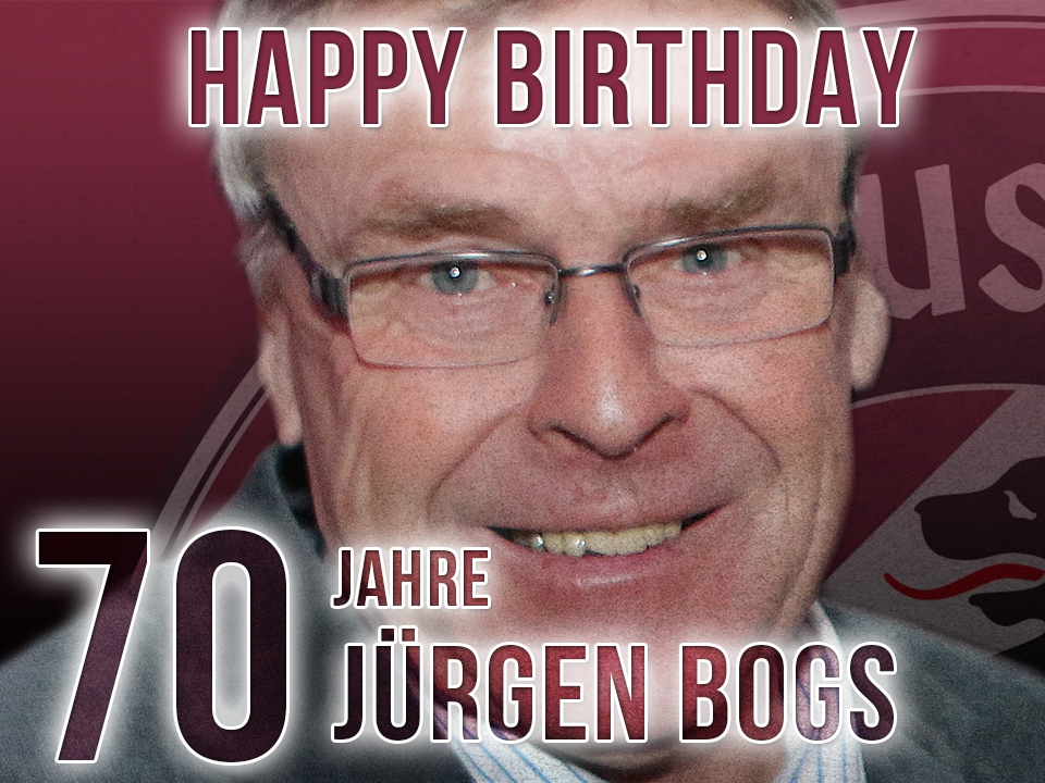 Jürgen Bogs - Eine Trainerlegende wird 70