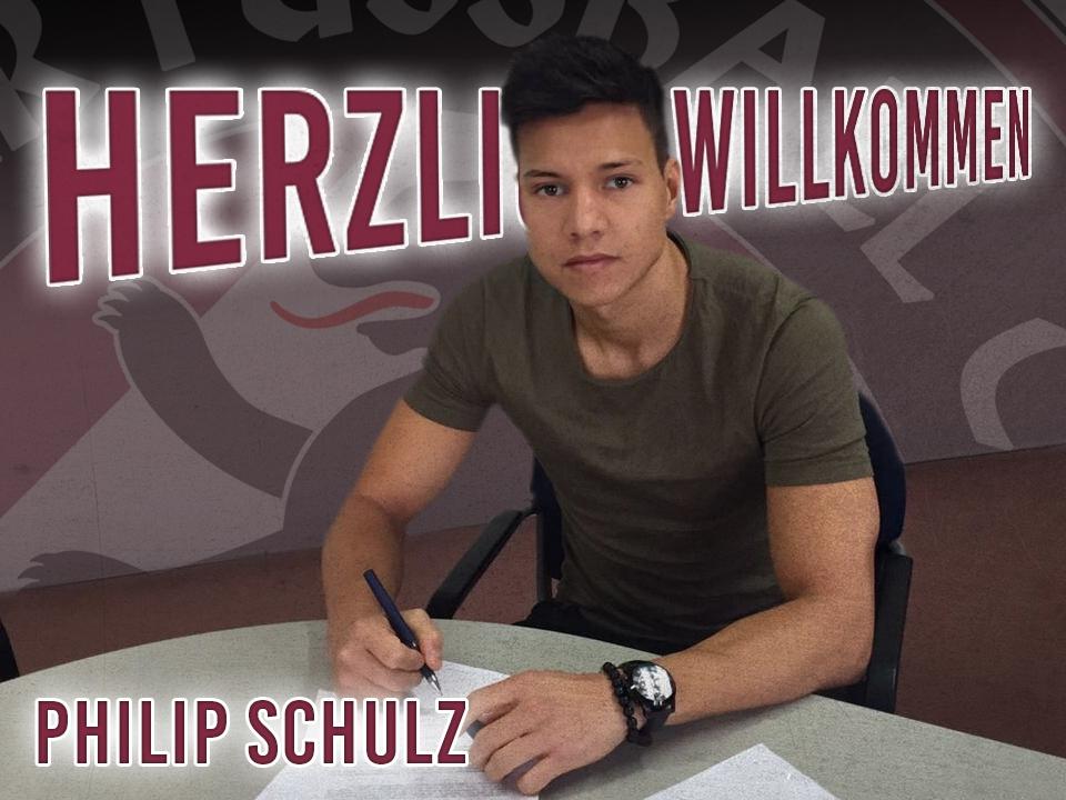 Neuzugang: Philip Schulz