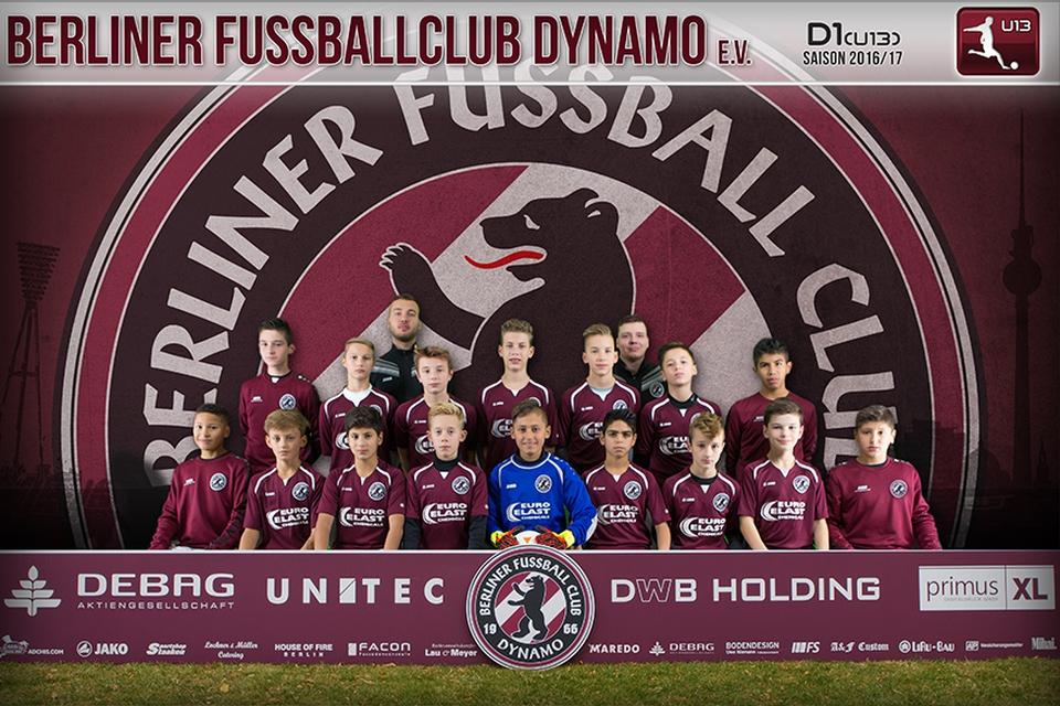 Mannschaftsfoto unserer U13
