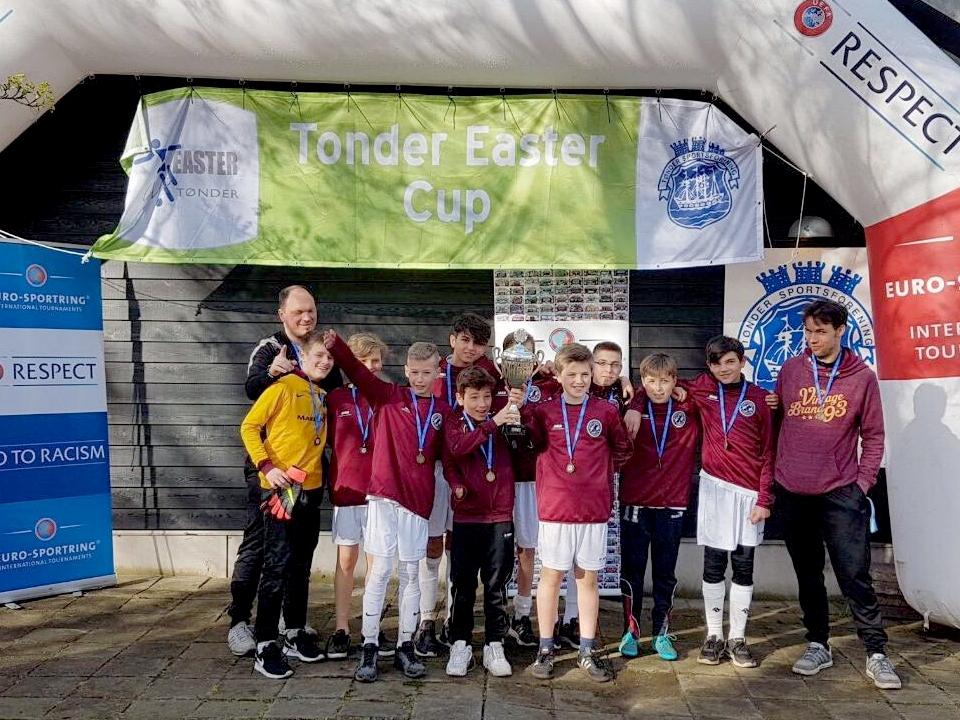 Sieger beim Tonder Easter Cup: BFC DYNAMO U13