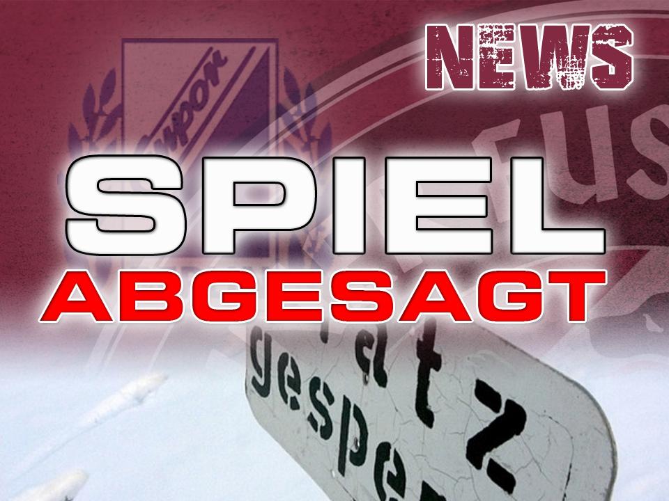 Testspiel BFC DYNAMO - SV Empor Berlin ... VERLEGT