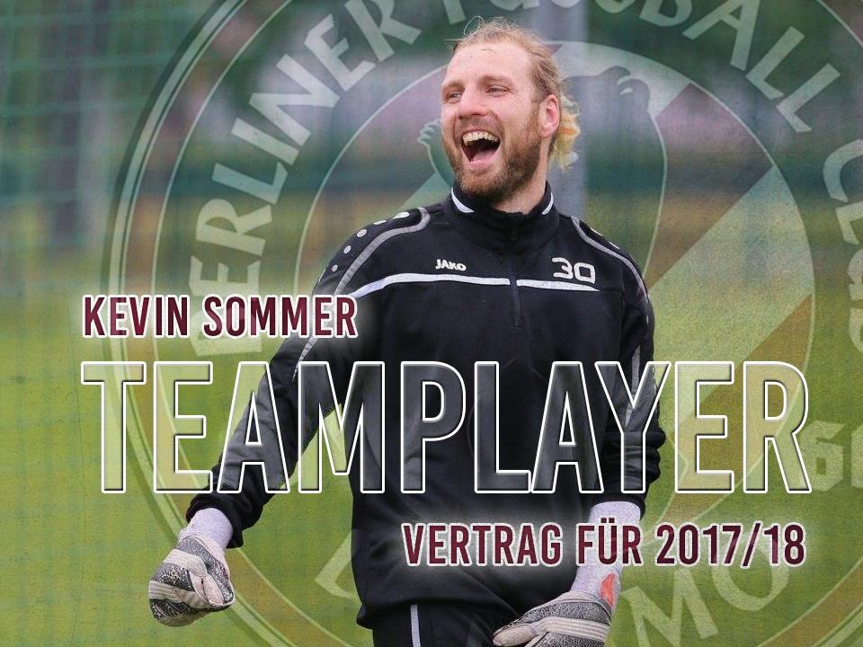 TEAMPLAYER: Kevin Sommer