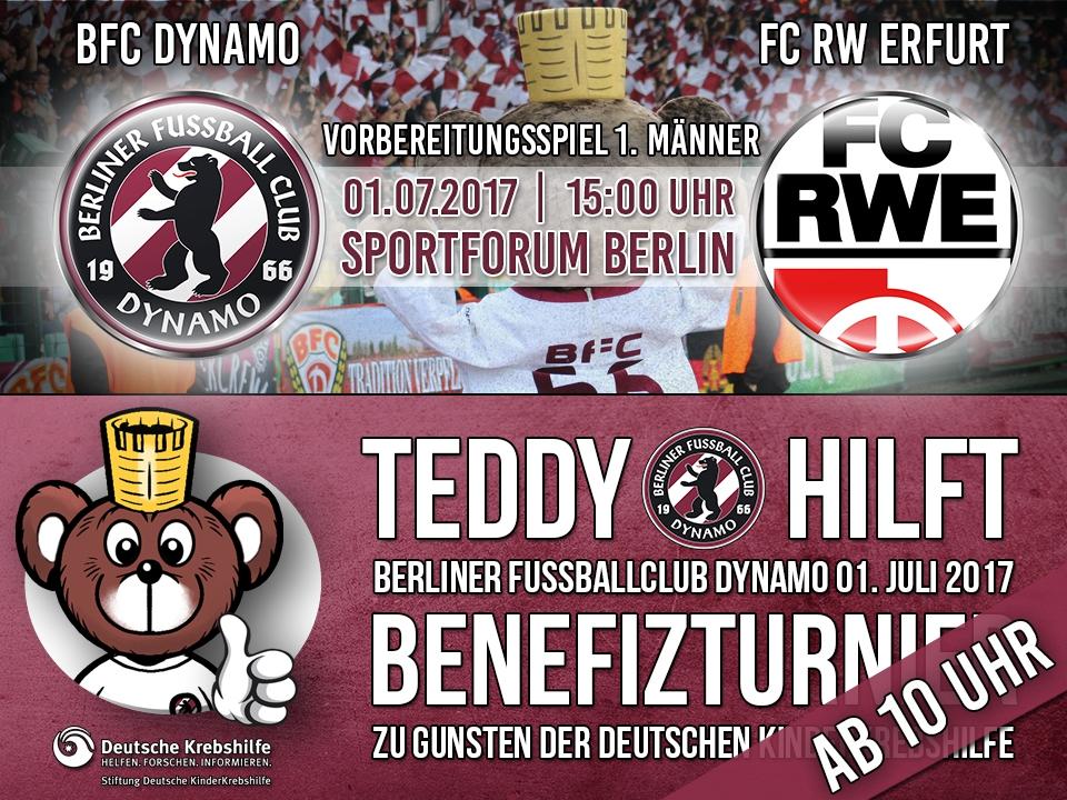 BFC - RW Erfurt   |   BENEFIZTURNIER