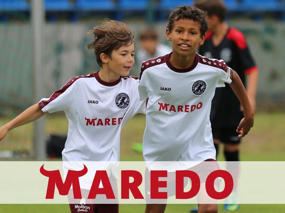 MAREDO und die Nachwuchsabteilung des BFC DYNAMO - 2 starke Partner