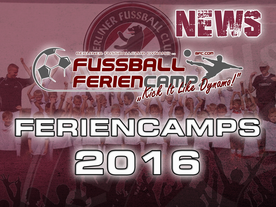 Feriencamps 2016 BFC DYNAMO