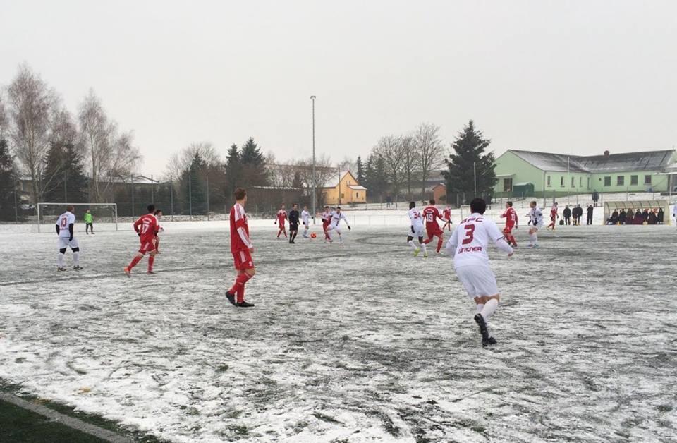 Schneeschlacht in Seelow mit sechs Toren