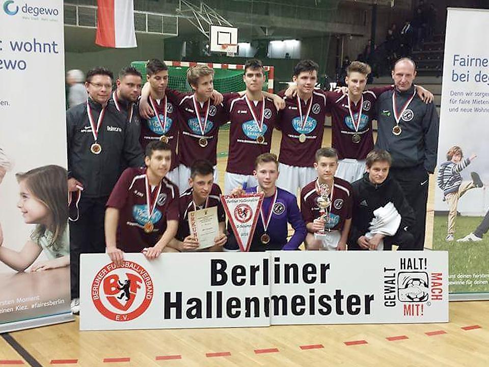 U17 Berliner Hallenmeister 2015/2016