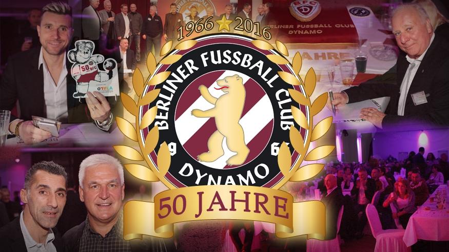 1966 - 2016   50 Jahre BFC DYNAMO