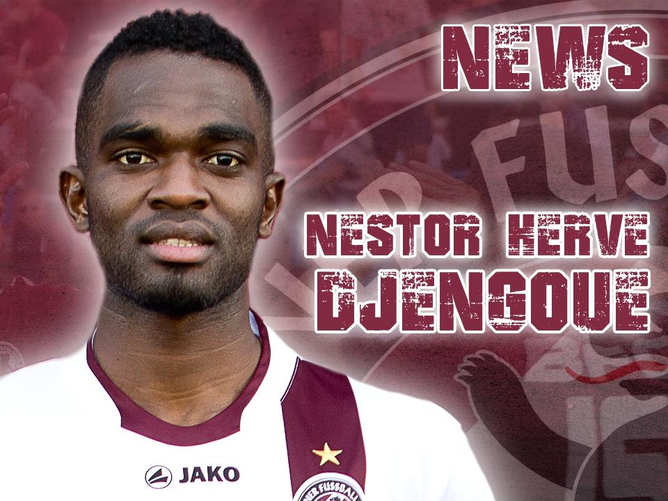 Nestor Djengoue trägt ab sofort das Trikot des BFC Dynamo