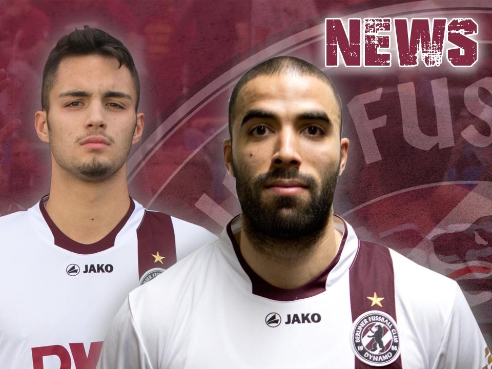 Balaskas und Lachheb gehen ab sofort für den BFC Dynamo auf Punktejagd