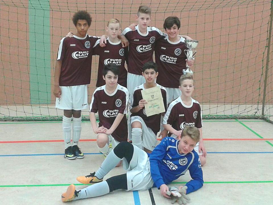 U13 Turniersieg in Fürstenwalde