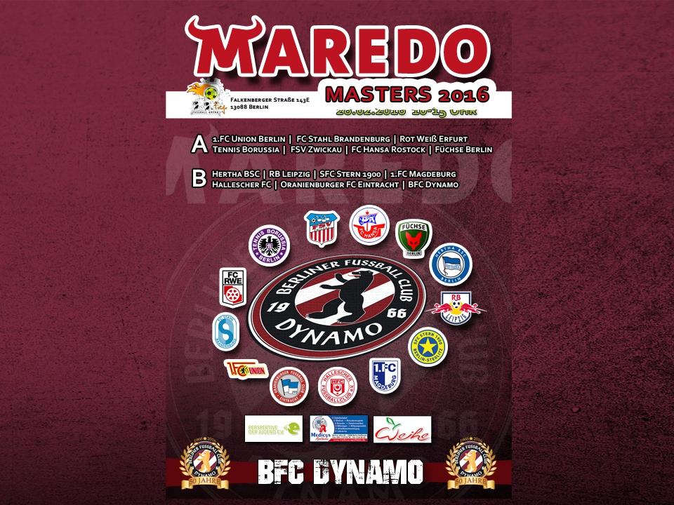 MAREDO MASTERS 2016