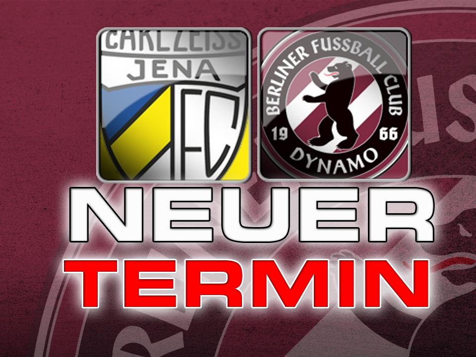 Anfang April geht es für den BFC Dynamo nach Jena...
