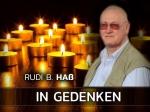 Unvergessen - 1. Todestag unseres Ehrenmitglieds Rudi B. Haß
