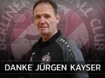 Jugendleiter Jürgen Kayser übergibt den Staffelstab
