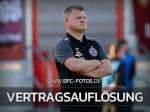 BFC Dynamo und Matthias Maucksch lösen Vertrag auf