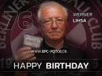 Happy Birthday - Werner Lihsa wird 76