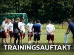 Trainingsauftakt: BFC trotzt der Hitze