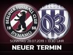 Regionalliga: Heimspielauftakt auf Sonntag verlegt
