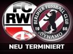 8. Spieltag: Spiel in Erfurt auf Sonntag verlegt