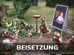 Peter Fuhrmann: Weinrot-weißes Geleit zur letzten Ruhe