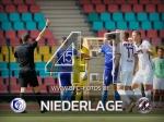 BFC Dynamo verliert 1:4 und Kristian Taag mit Platzverweis