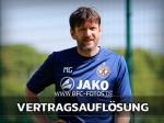 Trennung : BFC Dynamo und Co-Trainer Martino Gatti lösen Vertrag auf