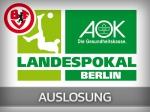 AOK-Landespokal: Auslosung des Achtelfinals am kommenden Freitag