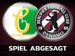 Spiel bei der BSG Chemie Leipzig abgesetzt