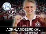 AOK-Landespokal: Unter Flutlicht beim Spitzenreiter der Oberliga