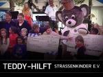 Teddy hilft - Spendenscheckübergabe an Straßenkinder e.V.