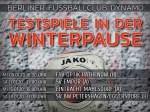 Winterfahrplan: Die Testspiele unseres BFC Dynamo