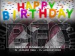 54 Jahre BFC Dynamo - unterwegs auf der weinrot-weißen Euphoriewelle