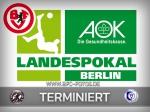 AOK-Landespokal: Halbfinale terminiert