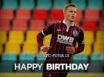 Grund zum Feiern - Mateusz Lewandowski wird 21