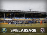 Absage: Platz im Bruno-Plache-Stadion unbespielbar
