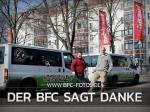 Der BFC Dynamo sagt persönlich DANKESCHÖN....