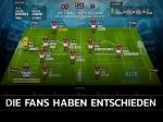 Virtuelles Benefizspiel: Die Fans haben entschieden