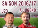 Neue Trainerbesetzungen (U23/A-Jugend)